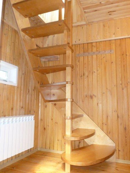 Своими руками лестница для бани